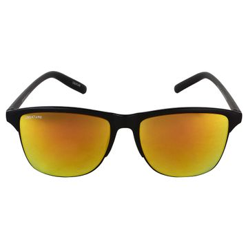 CREATURE | CREATURE Yellow Sunglasses with UV Protection (Lens-Yellow|Frame-Black)