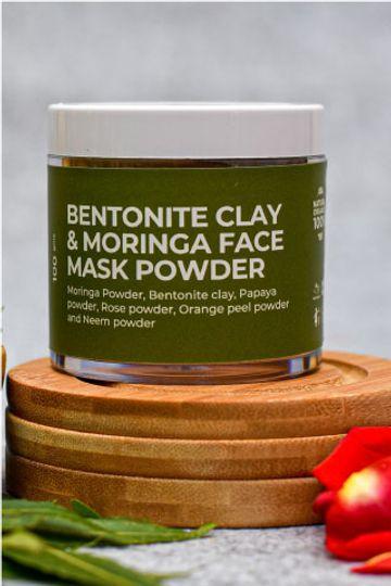 BodyCafe | BodyCafe Moringa, Neem & Bentonite Clay Face Pack Powder