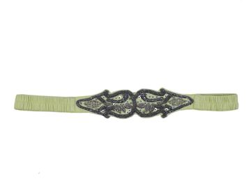 DIWAAH | Diwaah Yellow Color Casual Embellished Belt