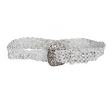 DIWAAH | Diwaah Silver Color Casual Embellished Belt