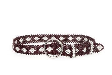 DIWAAH | Diwaah Brown Color Casual Embellished Belt