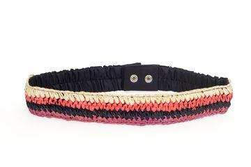 DIWAAH | Diwaah Orange Color Casual Embellished Belt