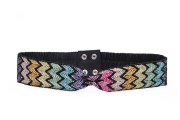 DIWAAH | Diwaah Pink Color Casual Embellished Belt