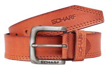 SCHARF | SCHARF Men's Henry Ralph Part To Play Leather Men's Belt BMC47