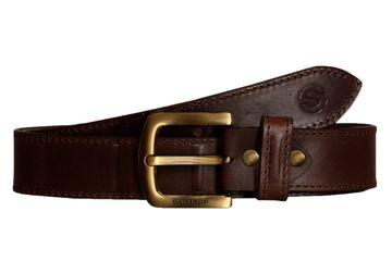 SCHARF | SCHARF Casual Leather Men's Belt MBMC20-Brown