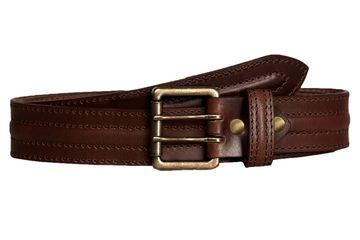 SCHARF | SCHARF Casual Leather Men's Belt MBMC21-Brown