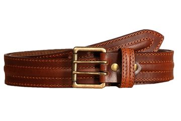SCHARF | SCHARF Casual Leather Men's Belt MBMC21-Black