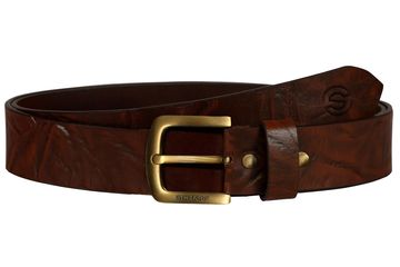SCHARF | SCHARF Casual Leather Men's Belt Tan