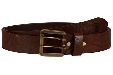 SCHARF | SCHARF Casual Leather Men's Belt Tan