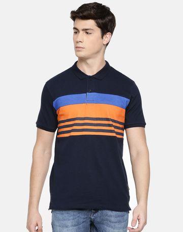 Braveo | Colourblock polo tshirt
