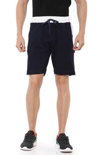 Braveo | Braveo Men knitted colorblock shorts