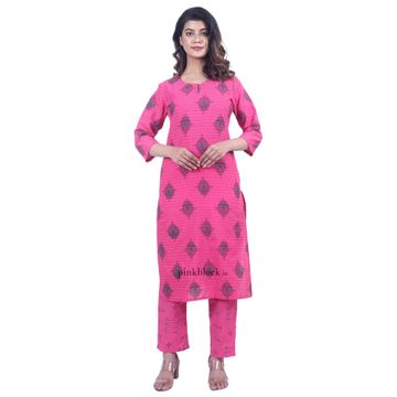 Pinkblock.in | Stylish Women Kurta Palazzo Set