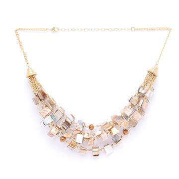 globus | Globus Gold Statement Necklace