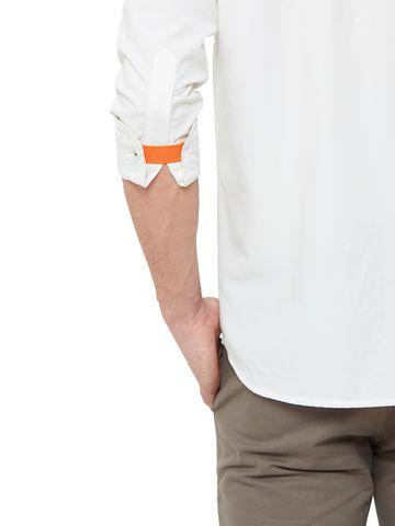 EVOQ | Orange Solid Cuff Band