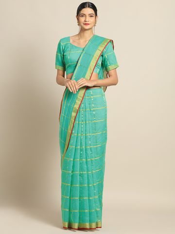 SATIMA | Satima SeaCotton SilkWeaving Saree