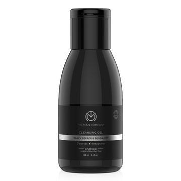 The Man Company | Charcoal Black Pepper & Bergamot Cleansing Gel - 100 ML