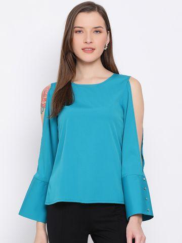 DRAAX fashions | DRAAX FASHIONS Women Blue Top