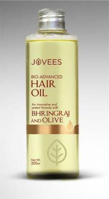Jovees | JOVEES Bio-Advanced Bhringraj And Olive Hair Oil  (200 ml)