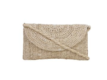 DIWAAH | Diwaah White Color Casual Clutch