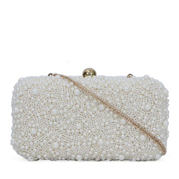 DIWAAH | Diwaah White Color Party Clutch