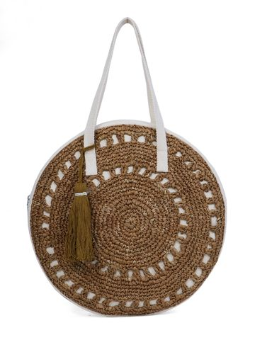 DIWAAH | Diwaah Beige Color Casual Handbag