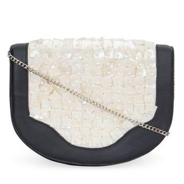 DIWAAH | Diwaah Black Color Casual Sling Bag