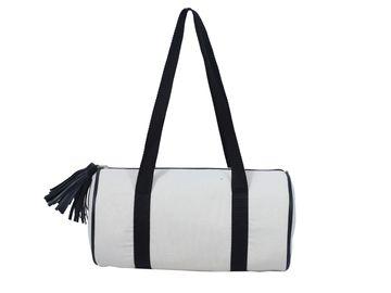 DIWAAH | Diwaah White Color Casual Duffel Bag
