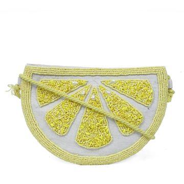 DIWAAH | Diwaah Yellow Color Casual Sling Bag
