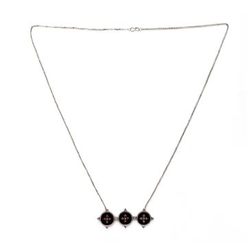 globus | Globus Silver Ethnic Necklace