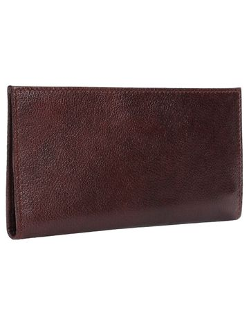 CREATURE | CREATURE Brown Stylish Genuine Leather Clutch for Women