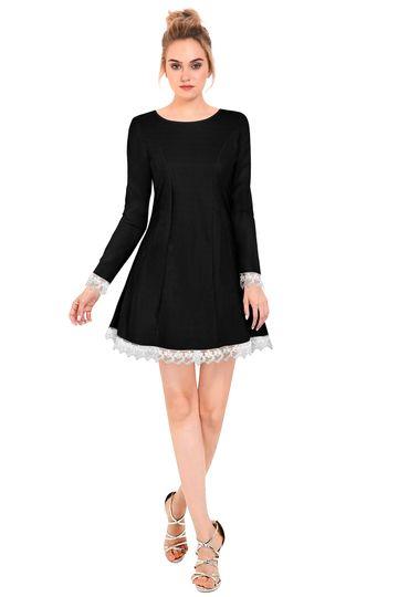JINAL & JINAL | JJ Women's Western Dress 01 - Black