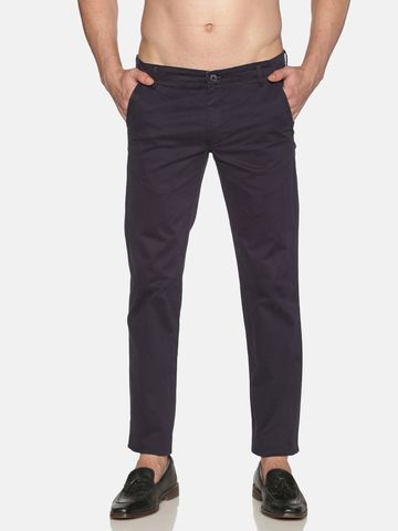 Chennis | Chennis Men Casual Navy Trousers