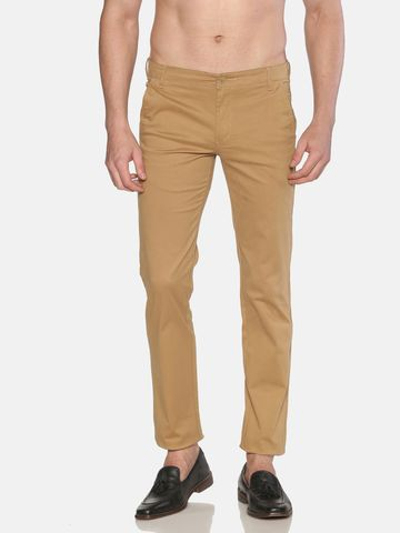 Chennis | Chennis Men Casual Beige Trousers