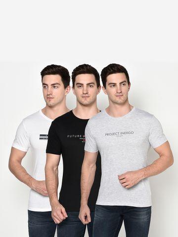 OCTAVE | Men COMBO5 T-Shirts