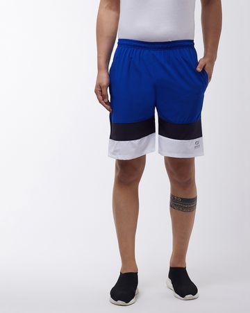 Masch Sports | Masch Sports Men's Regular Fit Soft Polyester Running/Regular/Sports/Gym Wear Sports Shorts Royal Blue