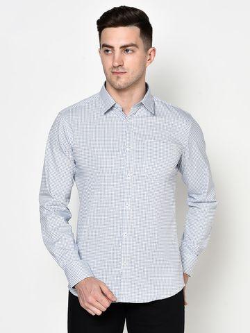 METTLE | Men SKY Casual Shirts