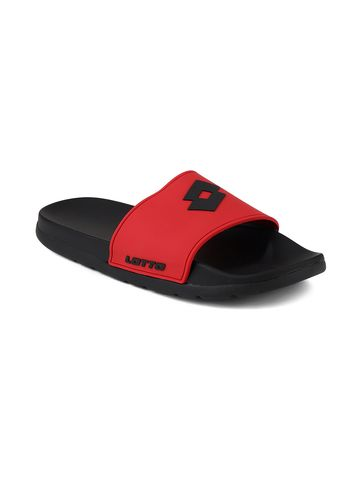 Lotto | Lotto Men's Red Lotto Slider Slippers