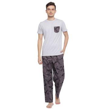La Intimo   Military Maze Made Well Pyjama TShirt Set