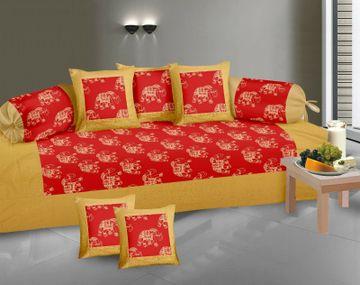 Pinkblock.in   Gold Diwan Set
