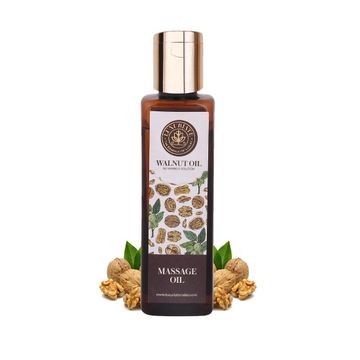 LUXURIATE | LUXURIATE 100% Pure Natural Walnut/Akhrot Oil for all Skin Types, Anti-aging, for Shiny Nails,Hair Growth, Face & Body,100 ml