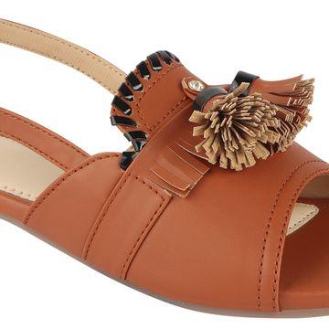 SALARIO | Salario Textured Flat Sandals