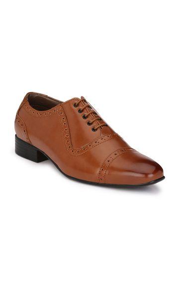 Guava | Guava Men Brogue Shoes - Tan