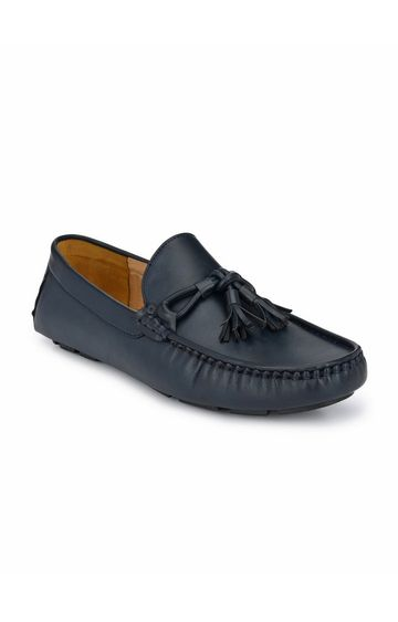 Guava | Guava Driving Tasseled Loafers - Blue