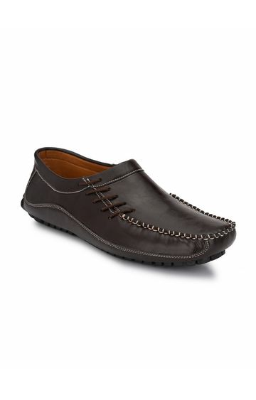 Guava | Guava driving Casual Loafer Shoes - Brown