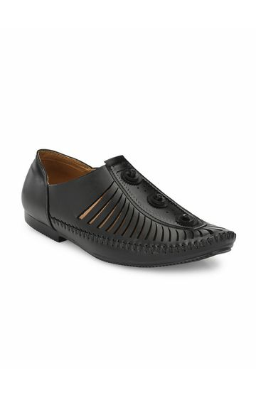 Guava | Guava handmade party casual Shoes - Black