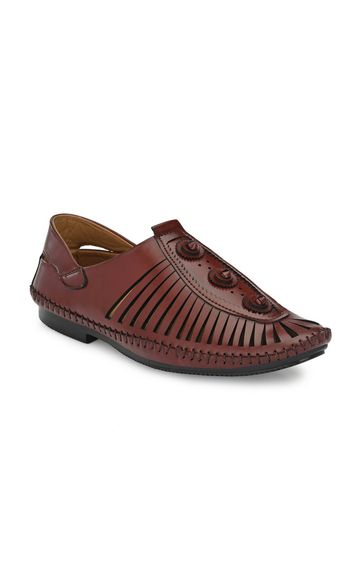 Guava | Guava handmade party casual Shoes - Maroon
