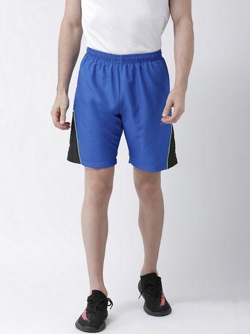 Masch Sports | Masch Sports Men's Gym Shorts Regular Fit Polyester (MSSH-0619-CS-ST-NRBBLK-S_Blue_S)