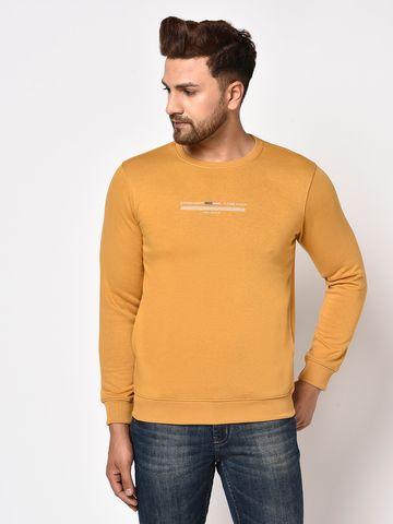 OCTAVE | Men DUSTY MUSTARD Sweatshirts