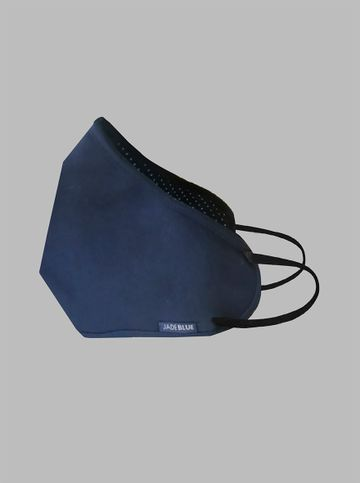 JadeBlue | JB-NBPWD-C388-NAVY BLUE POLKA WHITE DOT
