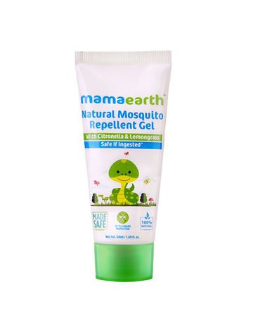Mothercare   Mamaearth Natural Mosquito Repellent Gel 50Ml